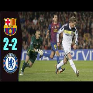 Barcelona 2-[2] Chelsea (agg. 2-3) : Torres 90+2'