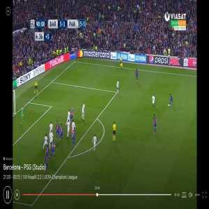 Barcelona [6] - 1 PSG - Sergi Roberto late comeback goal