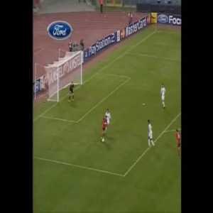 Berbatov great goal vs Roma