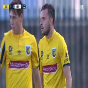 Central Coast Mariners 1-0 Melbourne City - Jordan Murray 2'