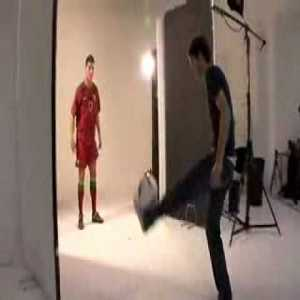 Cristiano Ronaldo and Billy Wingrove Freestyling