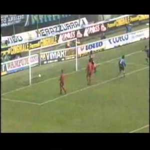 Djorkaeff's incredible volley against Roma