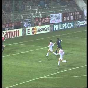Jari Litmanen AC Milan vs Ajax 0-1 1994/95