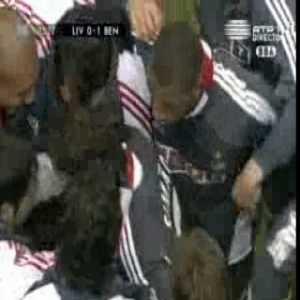 Liverpool 0 - [1] Benfica | Simão 88'