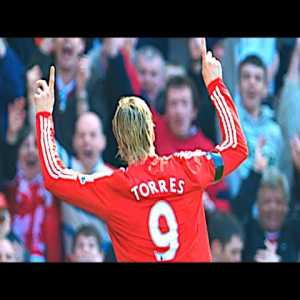 Liverpool 4 - 0 Blackburn Rovers 11.4.2009 - Torres opens the scoring with an absolute beauty