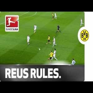 Marco Reus' beautiful Trivela assist vs. Mainz 05