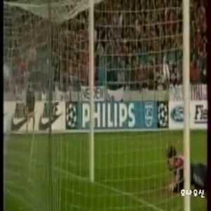 Romario turn and volley on Maldini vs Milan (Great Goal)