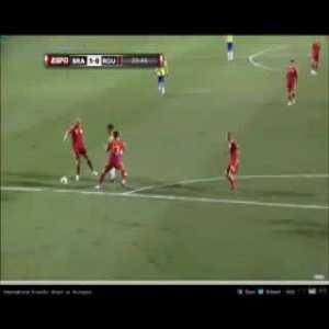 Ronaldo Fenomeno's Farewell Match vs Romania (Great Miss, Great Smile)