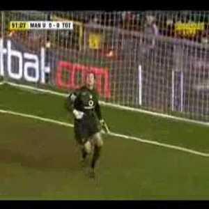 Man United 0-[1] Tottenham - Pedro Mendes 89'