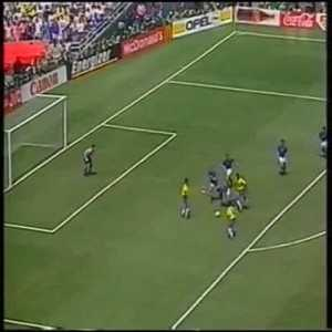A 34-year-old Baresi tore his meniscus early on in the '94 WC, an injury which usually requires surgery and takes months to heal. Despite this, he managed to recover enough to play the final vs Brazil and put in one of the best defending performances ever