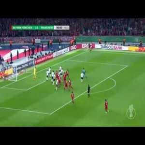 Bayern Munich 1-[3] Eintracht Frankfurt - Mijat Gacinovic (90'+3) (DFB Pokal Final 2017/18)