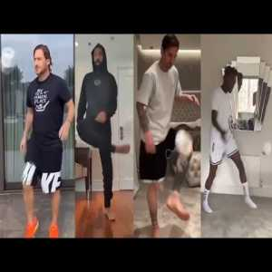 Best of Stay At Home Challenge Featuring Lionel Messi, Thiery Henry & Other Professional Players
