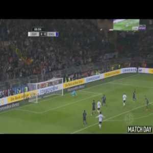 Germany [1] - 0 England Podolski 69' [Hammer]