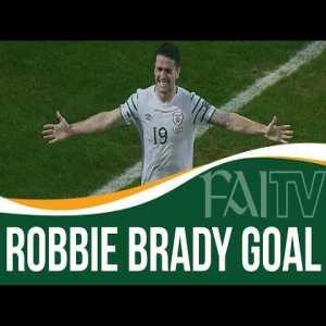 Ireland [1] - Italy 0 - Robbie Brady 84' (great goal)