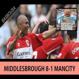 Man City's last game before the takeover by Sheikh Mansour - Middlesbrough 8-1 Man City