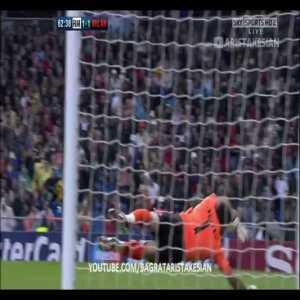 Real Madrid 1-1 AC Milan - Pirlo 61'
