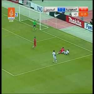 Saudi Arabia vs Bahrain insane final 4 minutes - World Cup 2010 AFC play-offs, 1st leg ended 1-1 in Bahrain
