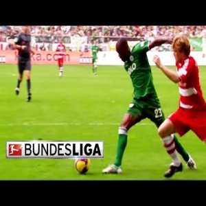Wolfsburg [5]-1 Bayern Munich - Grafite 77' (Great Goal) - 2008/09 Bundesliga