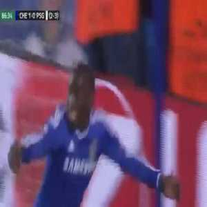 Chelsea [2]-0 PSG (Agg. 3-3): Demba Ba - 87'