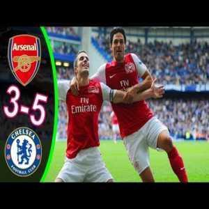 Chelsea 3-5 Arsenal highlights (2011/12)
