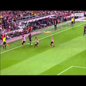 Lionel Messi's Great 2015 Copa del Rey final goal