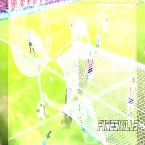 Luis Suarez asks for a handball.