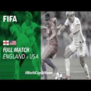 #WorldCupAtHome | England vs USA (WWC France 2019)