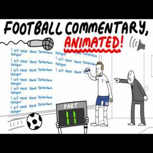 Animated football commentary