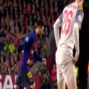 Barcelona 3-0 Liverpool - Leo Messi 82'