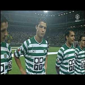 Cristiano Ronaldo Vs Manchester United Home (06/08/2003)