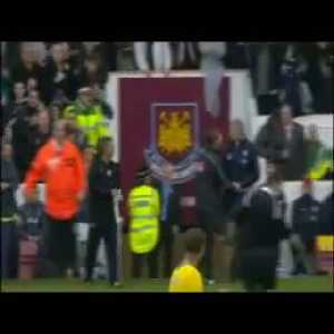 Touchline fight between Wenger and Pardew