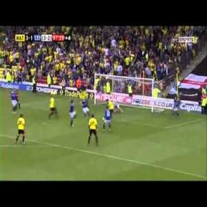 Watford 3 - 1 Leicester - Troy Deeney 97th goal (2013)