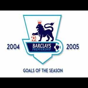 Best Premier League Goals from the 2004-05 Season