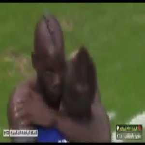 Mario Balotelli amazing goal and iconic celebration vs Germany