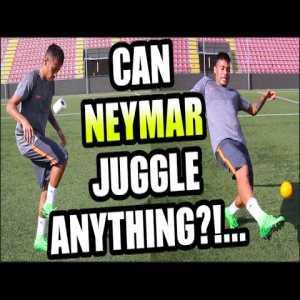 Neymar with the crazy skills