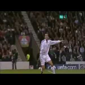 Spanish commentator goes wild for Zidane's goal against Bayer Leverkusen in the 2002 Champions League final