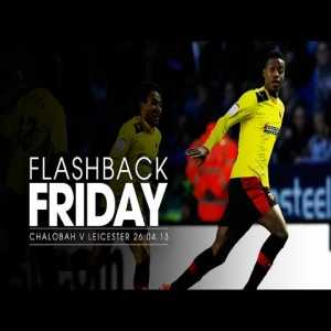 Chalobah incredible strike for Watford against Leicester (2013)