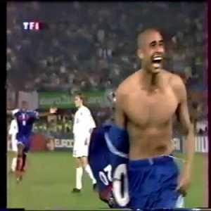 David Trezeguet's golden goal vs Italy - Euro 2000 final