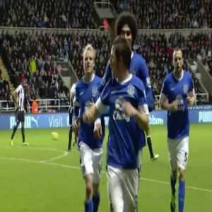 Newcastle 1 - [1] Everton - Baines 43'