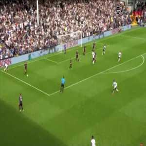 Aaron Ramsey great team goal vs. Fulham (2018)