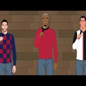 Cristiano Ronaldo vs Messi Roast Battle (Parody)