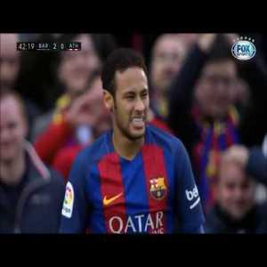 Neymar highlights vs Athletic Bilbao 2017
