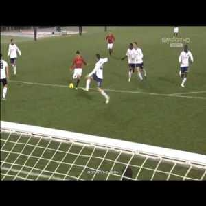 Osvaldo wrongly disallowed bicycle kick goal against Lecce (2011)