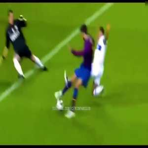 Still one of my favorite Barca goals, Pique vs. Inter!