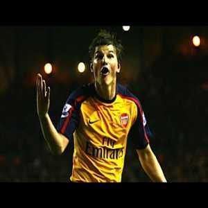 Andriy Arshavin Quadruple - Arsenal vs Liverpool [4]-[4] 2009