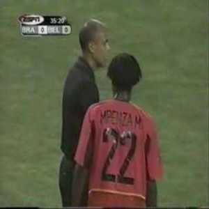 Brazil 2-0 Belgium - Wilmots disallowed goal 2002