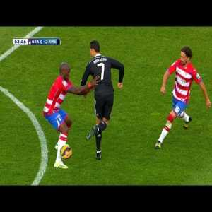 Cristiano Ronaldo - The art of the backheel pass