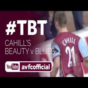 If we are posting old clips Gary Cahill's goal against Birmingham is one of the most inanely athletic goals I've ever seen (2006)