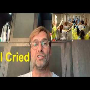 "Jürgen Klopp Emotional Reaction To NHS Staff Singing 'You'll Never Walk Alone"" To Each Other At The Hospital"
