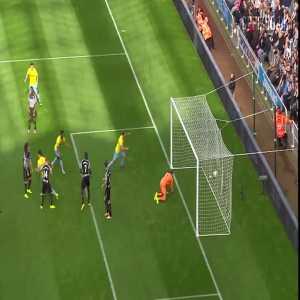 Newcastle 3 - [3] Crystal Palace - Wilfried Zaha 90+5'